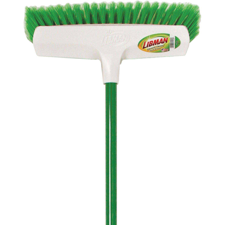 Libman 1140 Smooth Sweep Push Broom, 13'' Sweep Surface by Libman