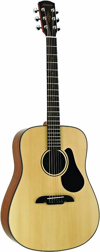 Alvarez AD30 Dreadnought Natural de la guitarra acústica: Amazon ...