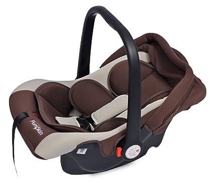 338713201d9 Buy Little Pumpkin - Kiddie Kingdom - Infant Car Seat Cum Carrycot (Brown  Beige) Online at Low Prices in India - Amazon.in