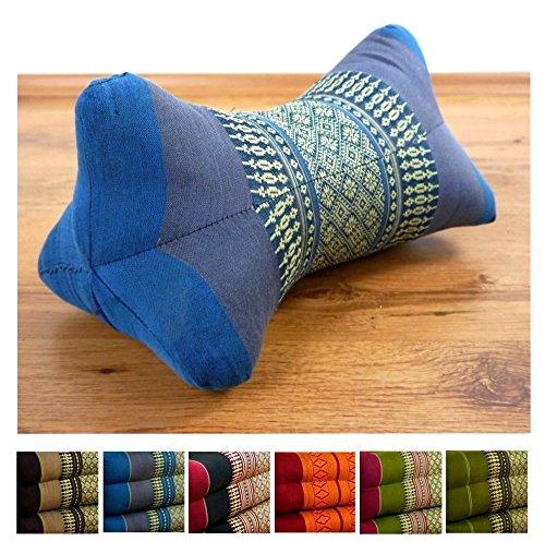 LivAsia Bone Shape Comfort Neck Support, 12x8x8 inches (LxWxH), Firm Cushion | Thai Pillow | Thai Cushion | Headrest | Bone Shape Cushion by LivAsia