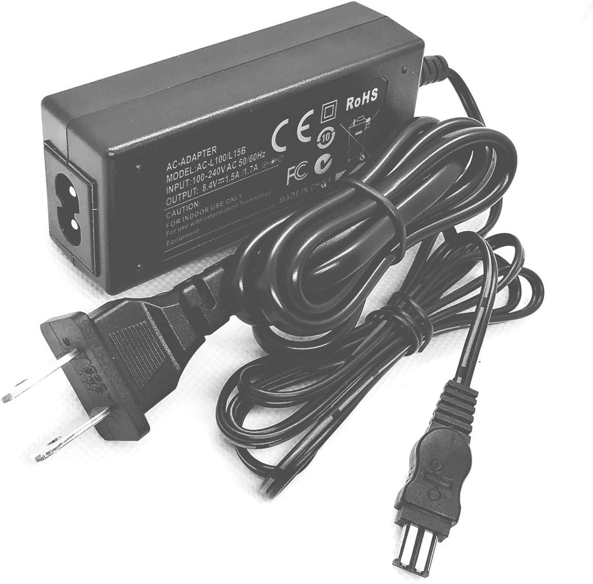 DCR-TRV140E Handycam Camcorder AC Power Adapter Charger for Sony DCR-TRV116 DCR-TRV116E DCR-TRV140