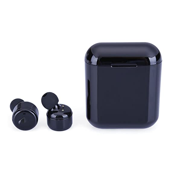 Wireless Earphone Bluetooth Headset Mini Earbuds Auriculares Super Bass Earbud For iPhone,Black X3T