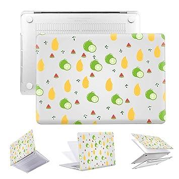 Amazon.com: PapyHall - Carcasa de plástico para MacBook Pro ...