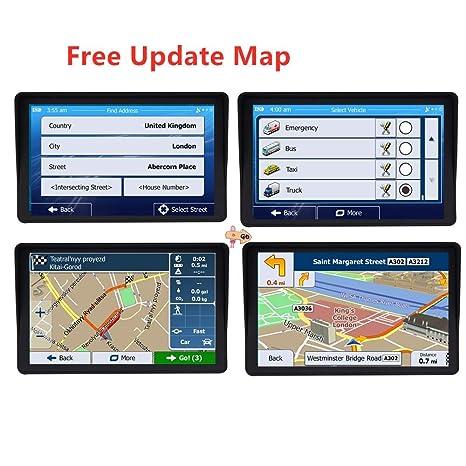 Bright Sat Nav - Navegador GPS de 7 Pulgadas para Coche con ...