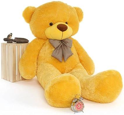 Avs 5 Feet Teddy Bear Soft Toy 152 Cm Yellow