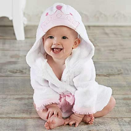 1e15aa5df Stangent Toddler Kids Bathrobe Hooded Pajamas