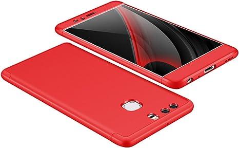 Funda Huawei P9 Hard PC+TPU Case [Ultra Slim] Anti-Scratch Full Body protección Anti-Golpes Rasguño y Resistente Anti-Estático Choque Absorción Bumper pour Huawei P9