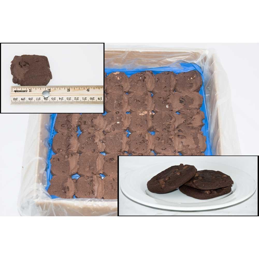 Phillsbury Special Recipe Brownie Cookie Dough, 1.2 Ounce -- 288 per case.