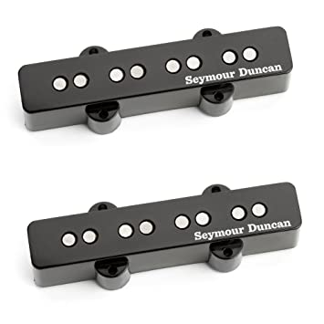 Amazon.com: Seymour Duncan Apollo Jazz Bass Pickup - 4-string Set ...