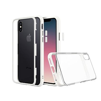 sale retailer 2231e 890ef RHINOSHIELD MOD Case/Cover for iPhone X - White: Amazon.in: Electronics