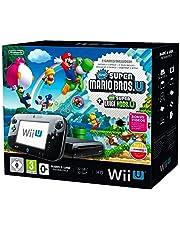 Wii U Mario + Luigi Premium Pack, Black [Importación Alemana]