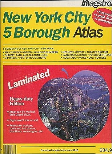 Book Hagstrom New York City 5 Borough Atlas: Laminated (Hagstrom New York City Five Borough Atlas (Laminated)) by Inc. Hagstrom Map Company (1998-06-02)