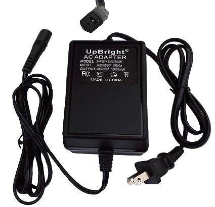 Amazon com: UpBright New 2-Prong 12VAC 5A 60W AC/AC Adapter