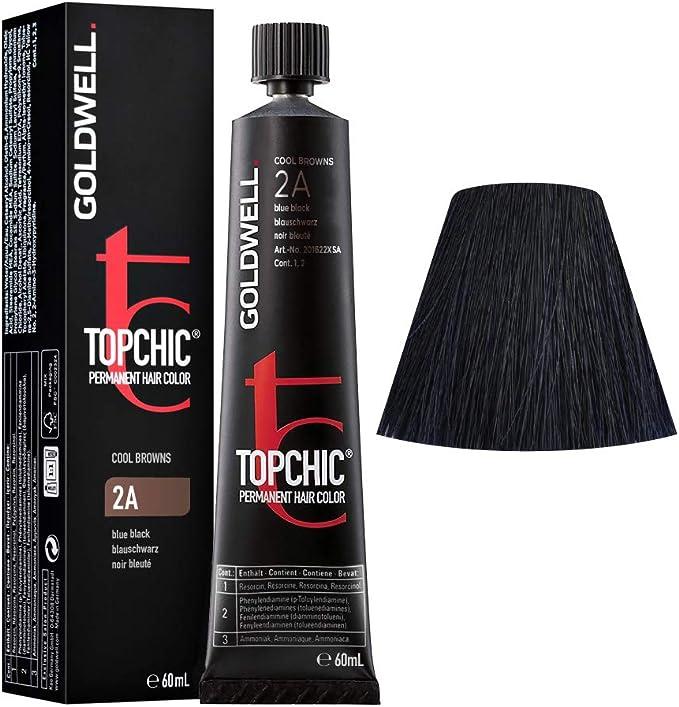 2A Negro azulado Goldwell Topchic Cool browns tb 60ml