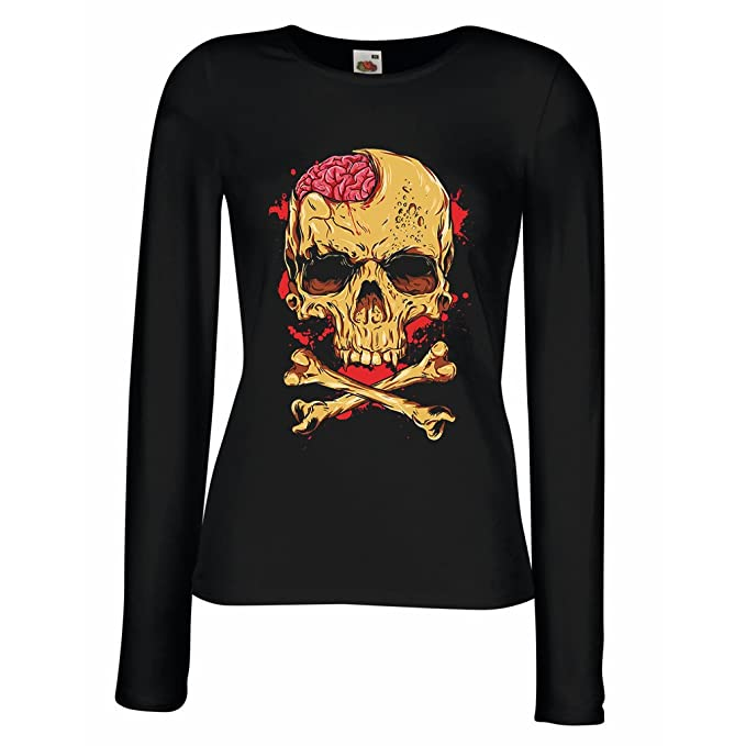 Amazon com: T Shirt Women Skull and Bones - Vintage, 80s, Rock and