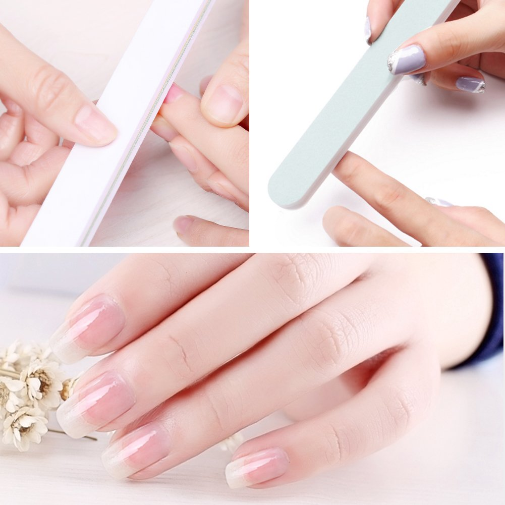 Amazon.com: Mobray Lima de uñas pulidora, pulidora suave ...