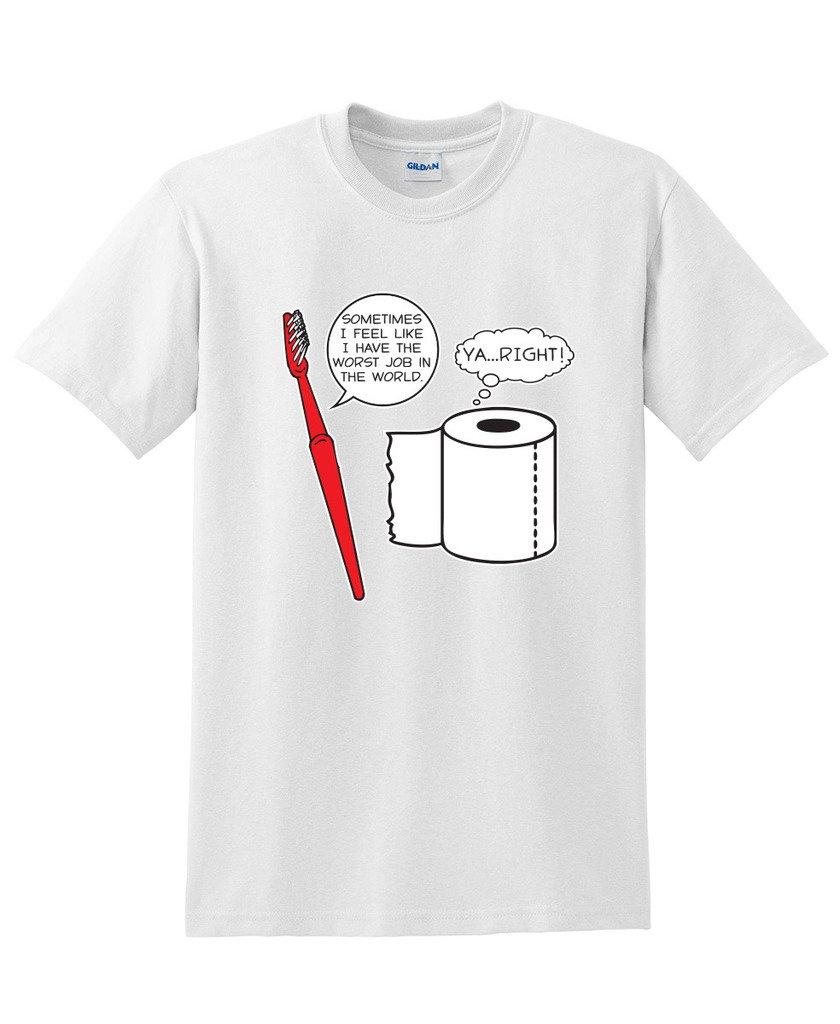 I Feel Like I Have The Worst Job In The World. Ya.right Beefy Ts Shirts