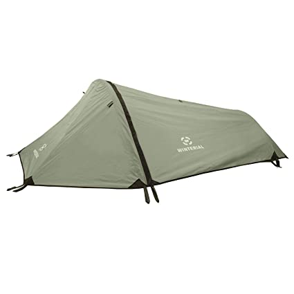 Winterial Single Person Tent Personal Bivy Tent. Lightweight 2 Pounds 9 Ounces  sc 1 st  Amazon.com & Amazon.com : Winterial Single Person Tent Personal Bivy Tent ...