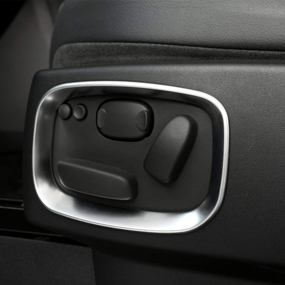 Coperchio coprioggetti in plastica per sedile laterale in plastica ABS Accessori per auto opaco argento per Discovery 4 LR4 2010-2016 per Range rover Sport 2010-2013