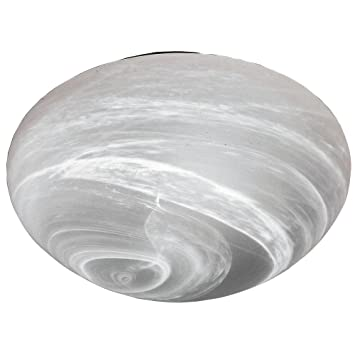 besa lighting 911052c bobbi collection 2light flush mount marble glass shade - Besa Lighting