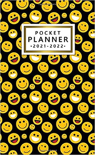2021 2022 Pocket Planner 24 Month Organizer Calendar Agenda Two Year Planner With Helpful Features Cool Emoji Pattern Planners The Ruby 9798677821431 Amazon Com Books