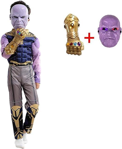 Cosplay Ropa Avengers 4 Thanos Disfraz De Cosplay Infantil Lycra ...