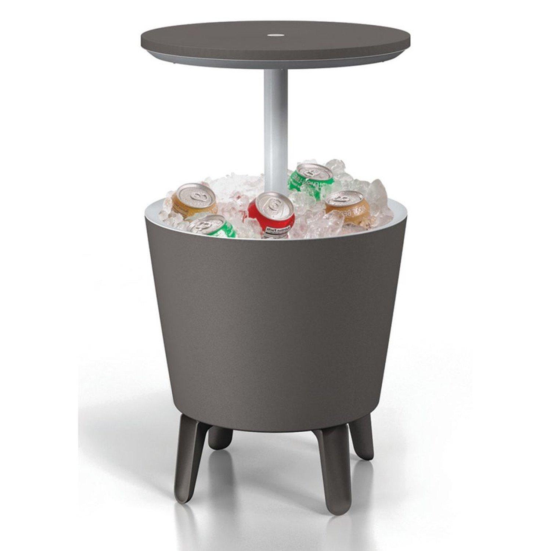Keter Cool Bar Gartentisch mit Kühlfunktion Garten Stehtisch Kühlbox ...