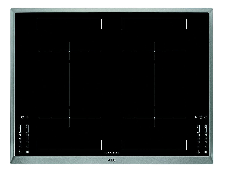AEG hkm76400 X B hobs eléctrico/S/Inducción/69,6 cm/Acero ...