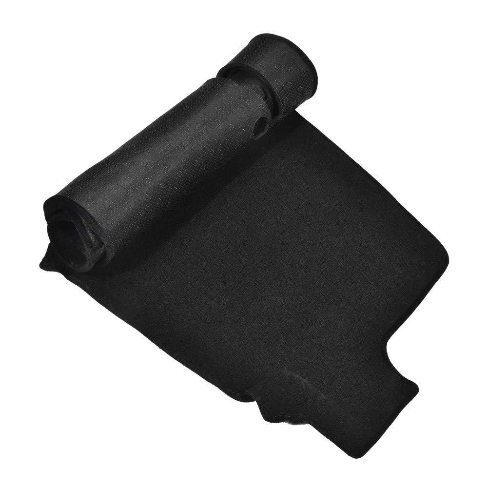 Facaimo Black Dashboard Cover Dash Cover for 14-17 Chevrolet Silverado 1500 2500 3500 Dashmat Dashboard Mat Carpet Custom Fit Easy Installation
