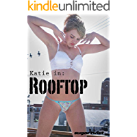 Katie - Rooftop (114 Sexy Lingerie Photos)