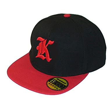 2d7ee769b24 Image Unavailable. Image not available for. Colour  Snapback hat with  raised embroidered letter - Beechfield ...