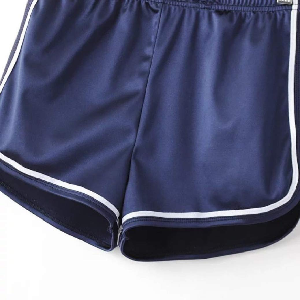 Fieer Womens Beach Wear Sports Summer Casual Hi-Waist Shorts Pants