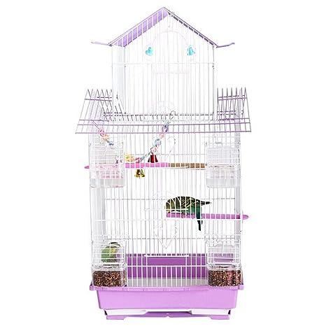 Danm Jaula Multiusos para Aves, Interior/Exterior/Jaula de cría ...