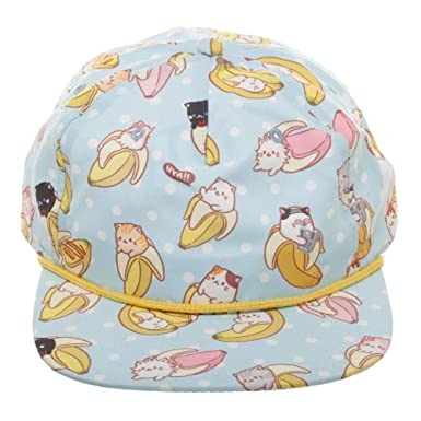 best cheap 7a568 91773 Bioworld Merchandising   Independent Sales Bananya All-Over Sublimated Print  Snapback Hat Standard