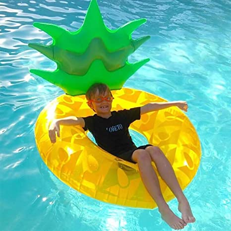 SUMME Adultos Pineapple inflables natación Gigante Piscina ...