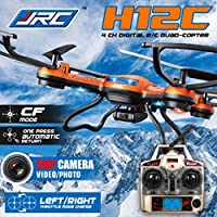 Outtop Christmas Gift JJRC H12CH Headless Mode One Key Return RC Quadcopter With 5MP Camera