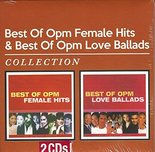 Best of OPM Female Hits & Best of OPM Love Balads Collection (2 CD set)