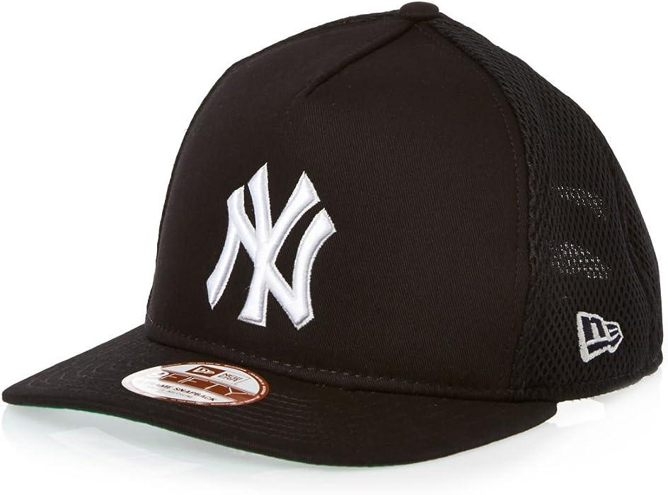 1864429dbea New Era 9 Fifty A-Frame Basic Mesh New York Yankees Cap - Navy White   Amazon.co.uk  Clothing
