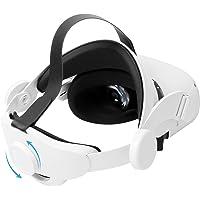 LICHIFIT Pasek Halo do Oculus Quest 2, regulowana opaska na głowę VR nakrycie głowy obrotowy pasek na głowę zamiennik…