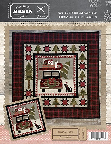 Deliver Joy Christmas Wall-hanging pattern - by Buttermilk Basin - 38
