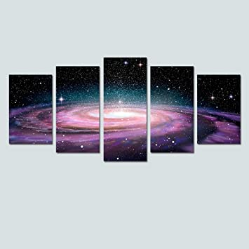 Amazon.com: Modern Canvas Wall Art for Living Room Space Wall Decor ...