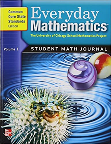Everyday Mathematics Grade 5 Student Math Journal Common Core State Standards Edition Vol 1 3rd Edition
