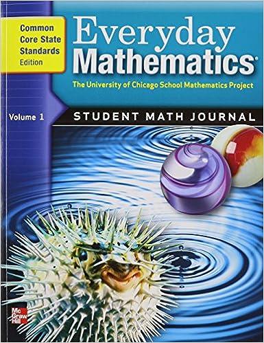 Everyday Mathematics Grade 5 Student Math Journal Common