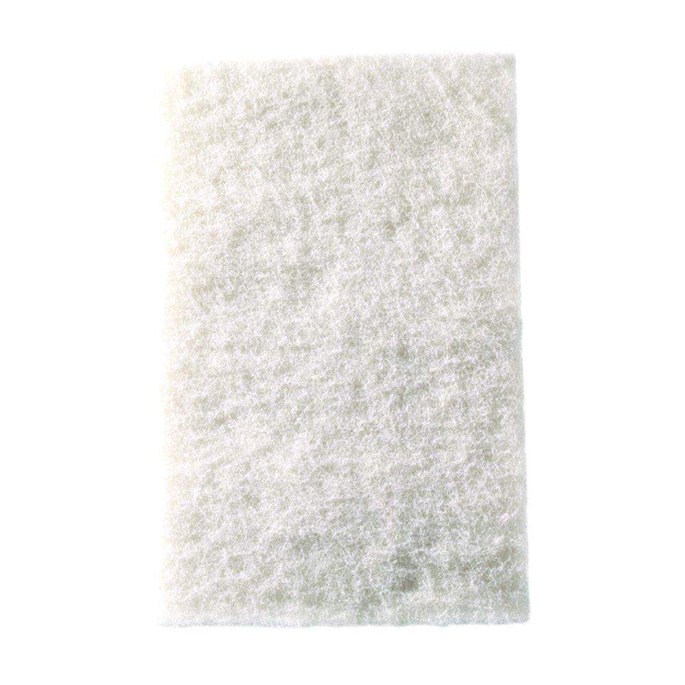 Mercer Industries 4201WH Floor Sanding Pads, 12'' x 18'', White, 5 Pack