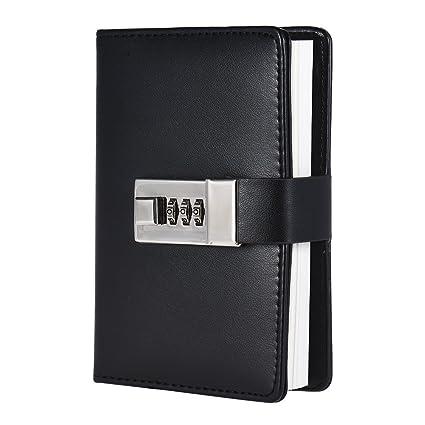 Amazon.com : Walmeck Notebook, Vintage A7 Pocket Notebooks ...
