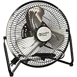 Comfort Zone High Velocity Cradle Fan |Adjustable 9-Inch 3 Speed Fan for Quiet Operation and Powerful Air Flow