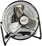 Comfort-Zone-CZHV9B-9Inch-3-Speed-High-Velocity-Cradle-Fan
