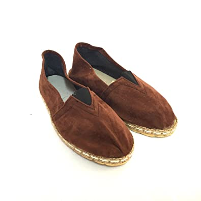 Leather Espadrilles of Carpincho (6) alpargatas de carpincho argentino