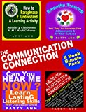 The Communication Connection 4 Book Bundle ~ * Passive Aggressive Resolutions * Listening Skills * Empathy Training * Paraphrase Effectively