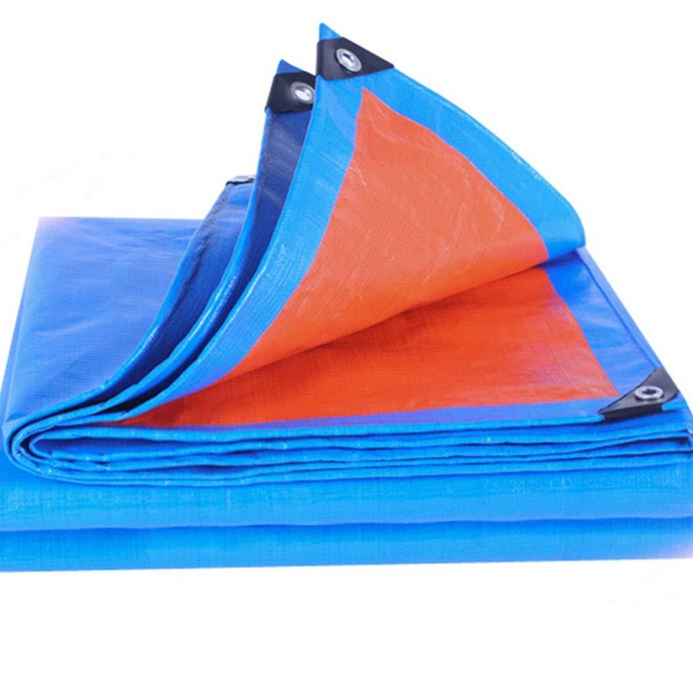A 3x6m BÂche De Prougeection Imperméable, Couverture De BÂche Résistante UV Imperméable De BÂche De Camion pour Le Bateau De Voiture Campant Le Bois De Chauffage boispile Bleu ZHANGQIANG